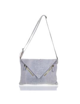 Bolsa de Ombro Iria Quintana Luxury Bags Cinza