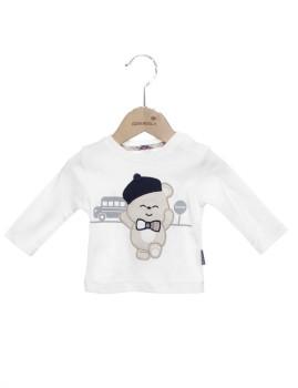 T-shirt Bebé Menino Girandola Branco