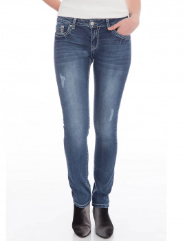 Jeans Denim Culture BIANCA Azul Denim