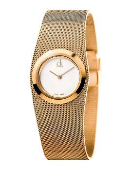 Relógio Senhora Calvin Klein Impulsive Rosa Dourado