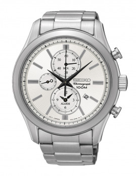 Relógio Seiko Classic Prateado E Cinza Homem