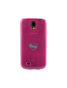 Capa De Telemóvel Em Gel Para Samsung Galaxy S4 Rosa