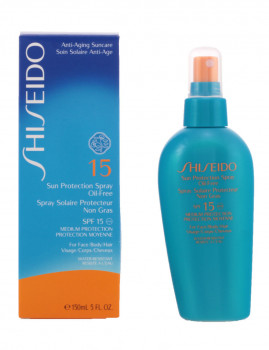 Shiseido Sun Protection Oil-Free Spf15 Vapo 150 Ml