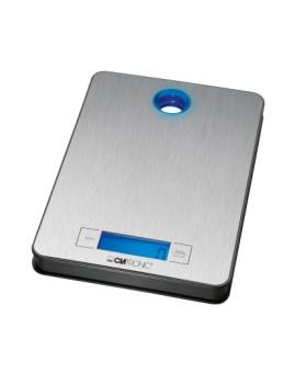Balança de cozinha digital inox Visor LCD   Clatronic