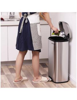 imagem de Caixote Do Lixo 30L Cinza3