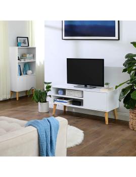 imagem de Móvel Tv Retro Branco Natural2