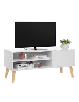 imagem de Móvel Tv Retro Branco Natural4