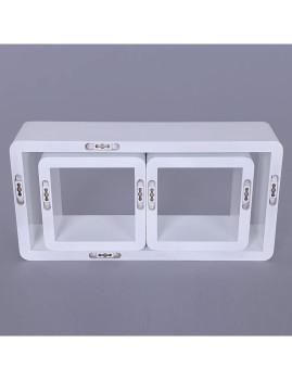 imagem de Prateleiras 3 Cubos Branco5