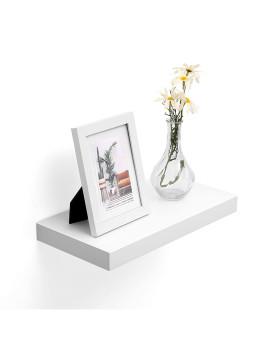 imagem de Prateleira Parede Para Molduras Branco5
