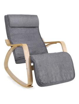 imagem de Cadeira Baloiço Cinza1