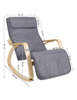 imagem de Cadeira Baloiço Cinza3