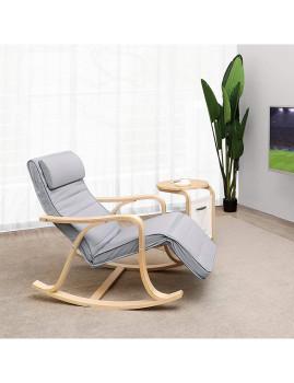 imagem de Cadeira Baloiço Com 5 Compartimentos Cinza Claro2