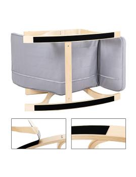 imagem de Cadeira Baloiço Com 5 Compartimentos Cinza Claro4