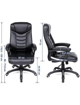 imagem de Cadeira Escritório Preto3