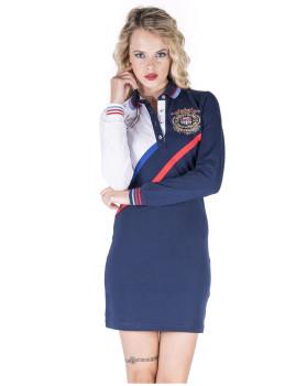 Vestido de Senhora Giorgio di Mare Azul Navy