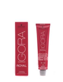 Creme De Coloração Permanente Schwarzkopf Igora Royal 6-12 60 Ml