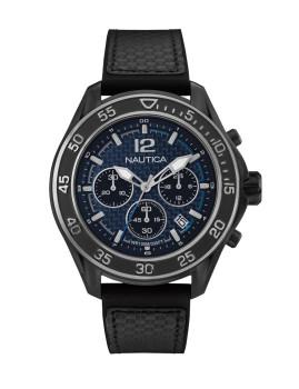 Relógio Nautica Homem Preto e Azul