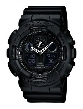 Relógio Homem Casio G-Shock Preto e Branco