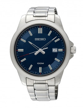 Relógio Homem Seiko Branco Azul