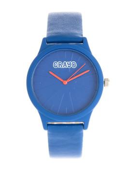 Relógio Crayo Splat Azul