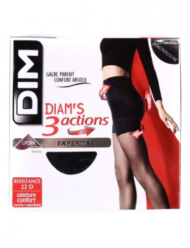 Collants Diam´s 3 Actions Pretas