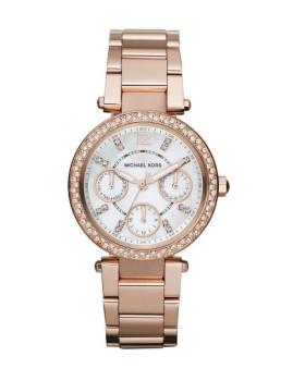 Relógio Michael Kors Parker Rosa Dourado