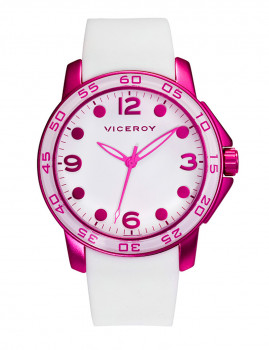 Relógio Viceroy Rosa e Branco