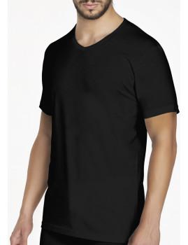 Pack 3  T-Shirt S/ Mangas Homem Azul, Preto e Cinza Pierre Cardin