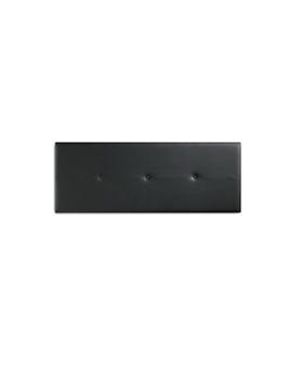 Cabeceira de cama Basic Preto 160 x 3 x 55 cm