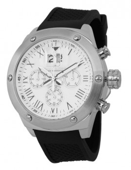 Relógio Herzog & Söhne Homem Branco e Preto