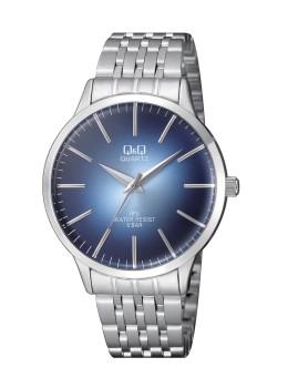 Relógio Q&Q Prateado e Azul