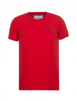 T-Shirt Jimmy Sanders Vermelho