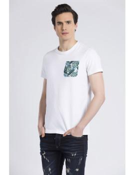 T-Shirt Jimmy Sanders Branco