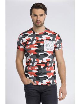 T-Shirt Jimmy Sanders Laranja