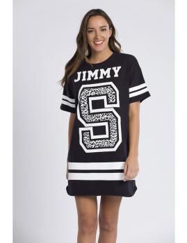 Vestido Jimmy Sanders Preta