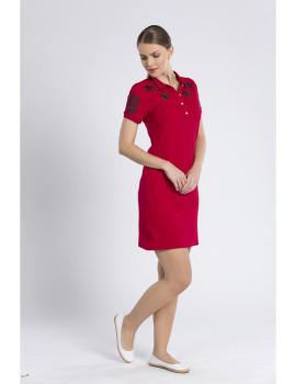 Vestido Jimmy Sanders Vermelho