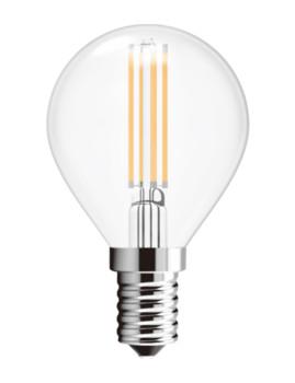 imagem de Lâmpada LED Globe Vidro Transparente Pack 22