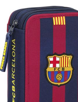 a97188e21011b Estojo Triplo 41 Peças FC Barcelona