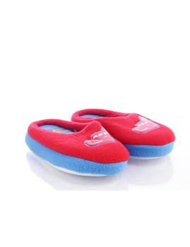 Pantufas Cars Vermelho & Azul