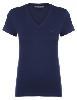 T-Shirt  Tommy Hilfiger Azul Navy Senhora