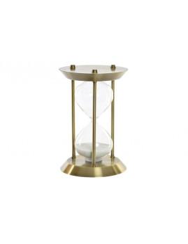 Relógio Arena Metal Cristal   Dourada