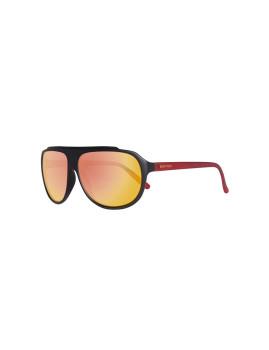 Óculos de Sol Benetton Preto-Vermelho Homem