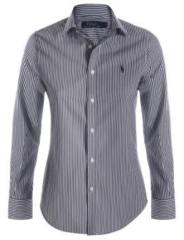 Camisa Ralph Lauren Riscas Senhora Preta e Branca