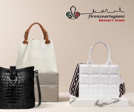 Imagem da campanha Firenze Artigiani Bags