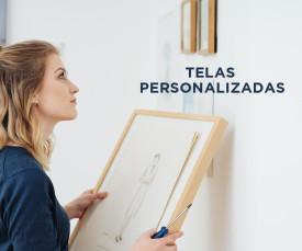 Personalize a sua casa! Telas Personalizadas desde 9,50!