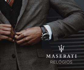 Imagem da campanha Maserati