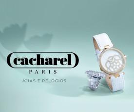 Imagem da campanha Cacharel Jóias e Relógios
