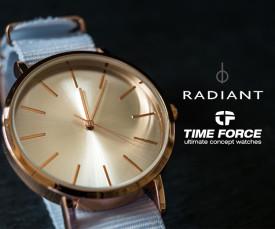 Imagem da campanha Radiant e Time Force