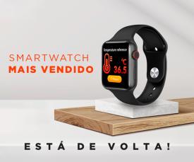 Imagem da campanha 72H! O Smartwatch mais vendido !! Só 29.99 Eur.
