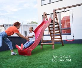 Imagem da campanha Baloiços Jardim